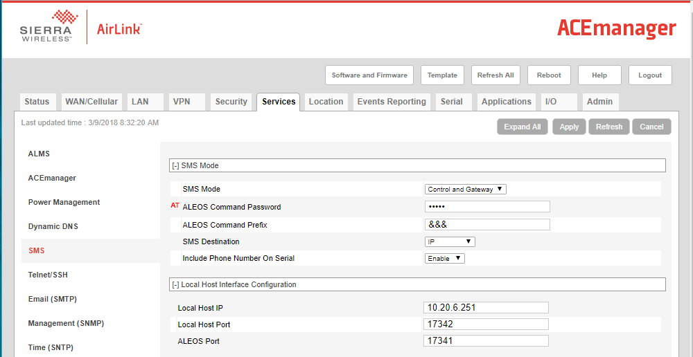 Sierra Wireless AirLink RV50 Setup Guide