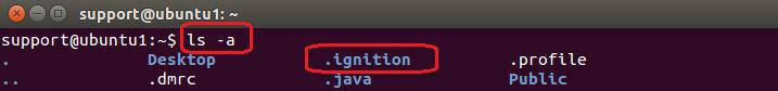 Show hidden files on Linux terminal